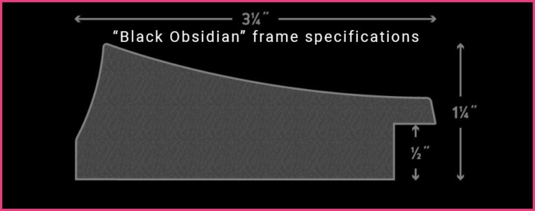 Black Obsidian Frame Specifications