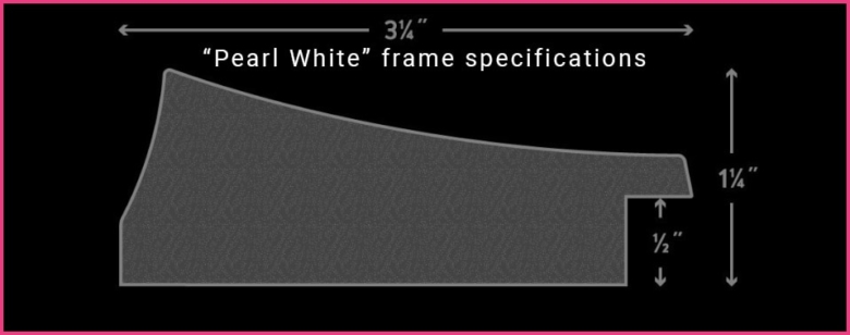 Pearl White Frame Specifications