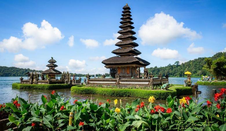 Water Temples Bali print